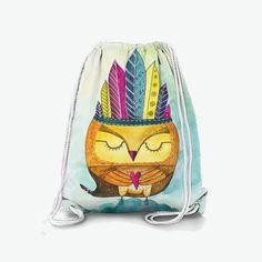 Рюкзак «Сова Индеец-Шаман»