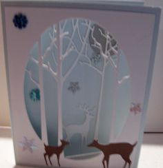Card created in class with Jenny Griffiths who is a design team member for Memory Box.