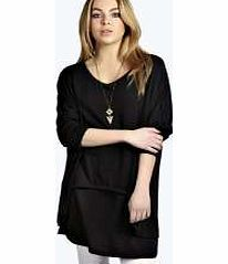 boohoo Oversized Layerd Jumper - black azz11152 Go back to nature with your knits this season and add animal motifs to your must-haves. When youre not wrapping up in woodland warmers, nod to chunky Nordic knits and polo neck jumpers in peppered mar http://www.comparestoreprices.co.uk/womens-clothes/boohoo-oversized-layerd-jumper--black-azz11152.asp