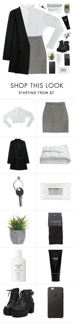 """the earth can pull you down with all its gravity"" by moonlightxbby ❤ liked on Polyvore featuring Yves Saint Laurent, Frette, Maison Margiela, Stila, Lux-Art Silks, SELECTED, Fresh, Witchery, women's clothing and women's fashion"