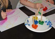 Popsicle paints