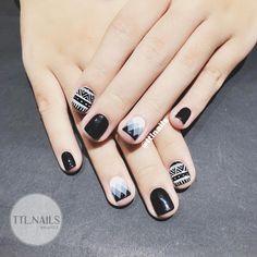 Do not bother with short nails ✌🏻 # ttlnails ----------------------------- Manicure Services Fb: fac Basic Nails, Simple Nails, Nail Swag, Shabby Chic Nails, Nail Art Printer, Nail Selection, Space Nails, Nail Photos, Pretty Nail Art