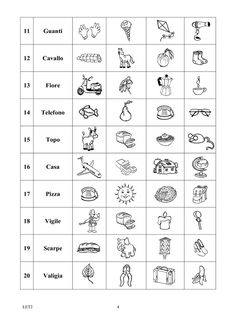 preliminare_lettura_2008_3 schede didattiche Brain Teasers For Kids, Education, School, Flashcard, Aurora, Children, Poster, Geography, Alphabet