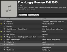 Fall 2013 Running Playlist!
