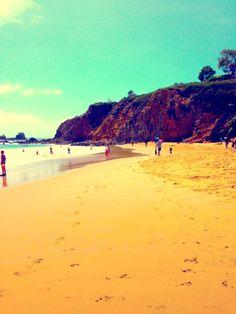 California beach, Laguna