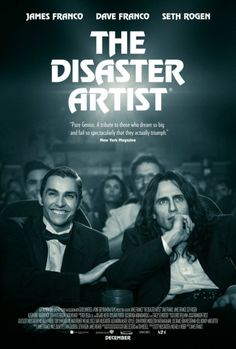 """The Disaster Artist Story about the making of the best worst movie ever made, """"The Room."""" Jame Franco nails the lead role. If you haven't seen The Room, it's definitely worth seeing as is this film. Stars James Franco and Dave Franco. Dave Franco, Hd Movies Online, New Movies, Movies To Watch, Good Movies, 2017 Movies, Film Watch, Movies Free, Latest Movies"""