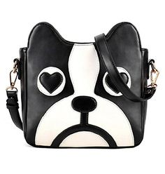 WorkTd Big Girls Boston Terrier Crossbody Shoulder Messenger Bag Purse * Want to know more, click on the image.