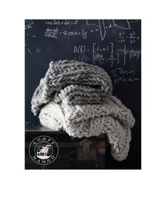 36'' x 70'' Super Chunky Knit Blanket or Throw by loopymango, $995.00