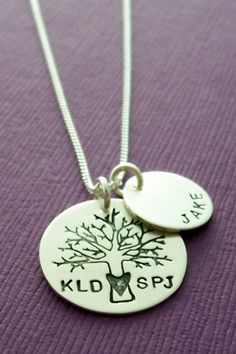 I like this one too. You can add birthstone to the kids pendants