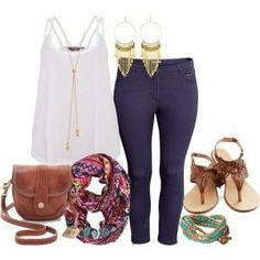 Summer outfit - Plus Size