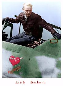 """Luftwaffe Lovers: """"Never hate, it only eats you alive"""" - Erich Hartmann. interview with the greatest Ace ever, which saw the sky. Ww2 Aircraft, Fighter Aircraft, Military Aircraft, Luftwaffe, German Soldiers Ww2, German Army, Erich Hartmann, Heroes And Generals, Female Marines"""