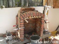Barbecue Garden, Outdoor Barbeque, Backyard Barbeque, Patio Grill, Pizza Oven Outdoor, Bbq Grill, Outdoor Fireplace Patio, Outdoor Kitchen Patio, Outdoor Patio Designs