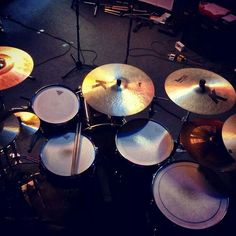 Drums..love the set