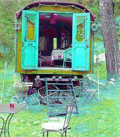Sheep Wagons/Gypsy Caravans On The Brain!