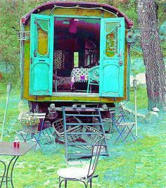 Sheep Wagons/Gypsy Caravans On The Brain!