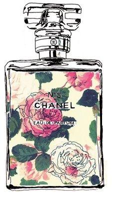Love Chanel - vintage/retro art inspiration