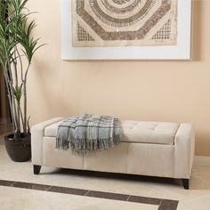 Keep toys out of sight when not in use with this sleek storage ottoman. The Christopher Knight Home Guernsey features a padded seat and a long rectangular design, which allows it to serve as a great s