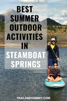 Often people come to Steamboat Springs for the winters, but they stay for the summers. There is an endless amount of outdoor fun to be had in Steamboat when the snow melts, with tons of biking, hiking, climbing, kayaking, paddle boarding, rafting, and tubing going on. Check out our post for the best summer outdoor activities in Steamboat Springs, Colorado. #steamboat #steamboatsprings #colorado #ustravel #travelcolorado #traveldestinations