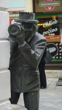 Bratislava, Paparrazzi. Slovaquie