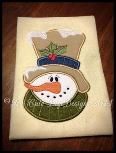 Hey, I found this really awesome Etsy listing at https://www.etsy.com/listing/213423040/snow-covered-snowman-with-a-some-holly