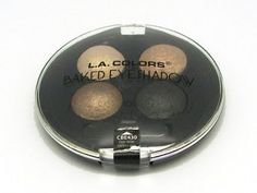LA Colors Baked Eye Shadow Palette Quad 430 Equinox >>> Details can be found by clicking on the image.