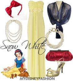 Snow White: Snow White by mydisneyfashion