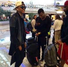 August Alsina and his brother Travis