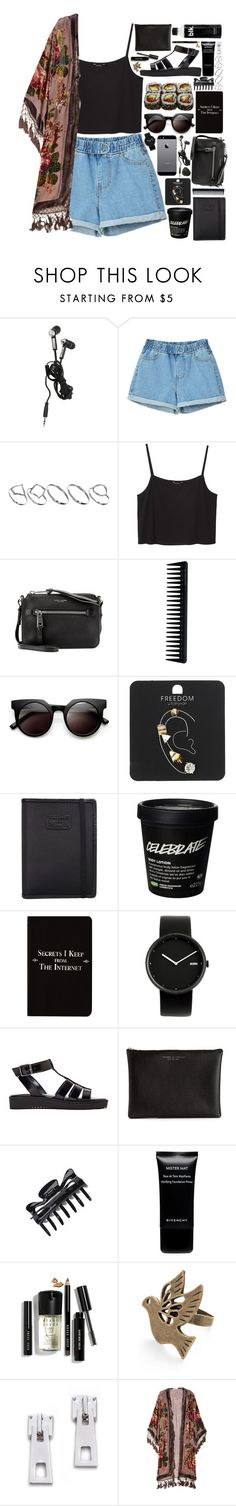 """""""Maddison"""" by daisy-blooms ❤ liked on Polyvore featuring ASOS, Jura, Monki, Marc Jacobs, GHD, Retrò, Topshop, Nava, Rich and Damned and Alessi"""