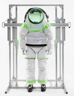 1 | NASA's New Space Suit Lets Astronauts Dress In Seconds | Co.Design: business + innovation + design