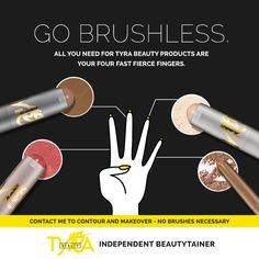 Ditch your makeup brushes in 2017! With TYRA Beauty's creamy In A Stick products, you'll be blending gorgeous color the fast, fierce way. https://multibra.in/6tfvx