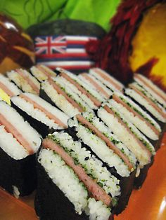 How To Make Spam Musubi (already know how, but this is good to have handy)