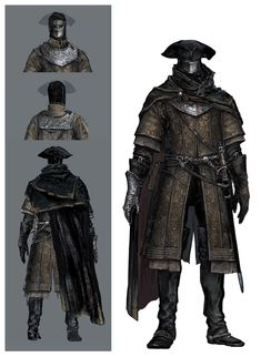 View an image titled 'Ringfinger Leonhard Art' in our Dark Souls III art gallery featuring official character designs, concept art, and promo pictures. Dark Souls 3, Dark Souls Armor, Fantasy Armor, Dark Fantasy, Fantasy Character Design, Character Art, Character Sheet, Dark Souls Characters, Bloodborne Concept Art