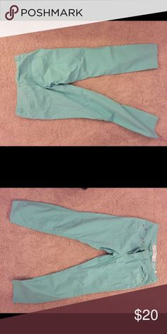 Light summer pastel pants Pastel green. New without tags H & M Pants Boot Cut & Flare