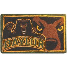 Baylor Bears Welcome Mat!