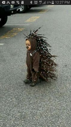 Porcupine costume....ADORABLE!!