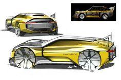 Audi Quattro redesign sketch