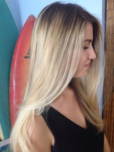 #balayage #blonde #hair #longhairdontcare #hairbyemilypinsky