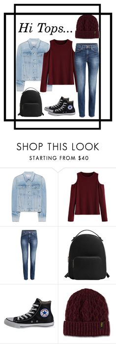 """""""Hi tops"""" by acro2005 ❤ liked on Polyvore featuring rag & bone, WithChic, MANGO, Converse and Dr. Martens"""