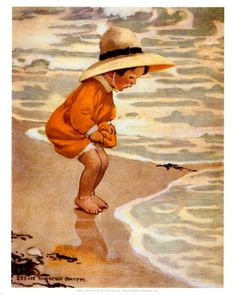 The Sea Blossom Print by Jessie Willcox-Smith at Art.co.uk