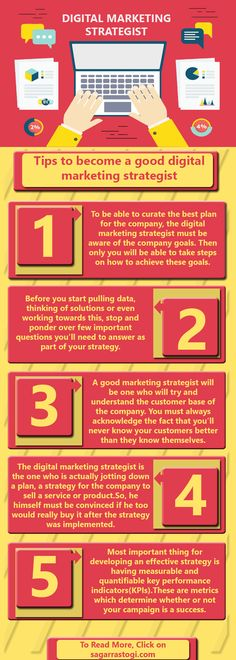 Digital marketing deals with selling a product or service digitally i.e. through the internet. Digital marketing planning is related to creating a marketing strategy for the company. The person who is responsible for making the digital marketing strategy for the company to create a real impact on the bottom line is a digital marketing strategist or simply a digital strategist.