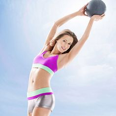 The 21-Day Total-Body Makeover Workout - all you need to get rolling is a 5- to 10-lb medicine ball or a dumbbell of the same weight... corp d'athlete... Jordan: http://energie-expert.fr/plombier/plombier-paris.html