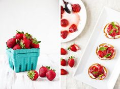 Great tips about picking, storing, and baking with fresh strawberries!
