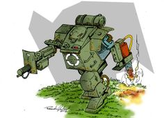 Robô de combate m1