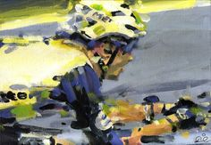 PAINTING LE TOUR: TDF 2016 stage 7 Steve Cummings!