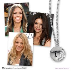 lia sophia | New monogram necklaces!
