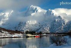 Lofoty, freeride v Nórsku