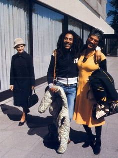Bob Marley and Marcia Griffiths