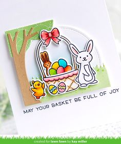 6X Easter Egg andRabbit Metal Cutting Dies For DIY Scrapbook Album Paper Card CL