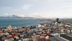 From the 101 Hotel, Iceland.  It's central location makes it a great base for exploring Reykjavik on foot.