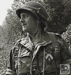 French; 1st BEP, this is a modern day renenactor dressed to depict the unit at Dien Bien Phu in 1954